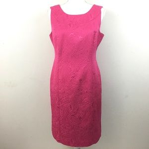 NEW Talbots Petites Pink Sleeveless Sheath Dress
